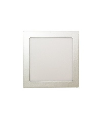Downlight LED 18W 865 / 6500 K Cuadrado Plata