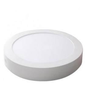 Downlight Superficie LED 18W 4200 K Blanco Redondo