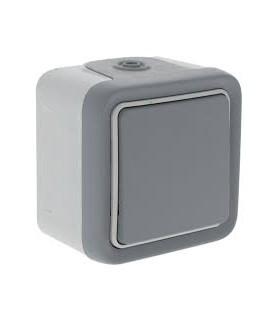 Interruptor / conmutador plexo Mbloc superf.10A